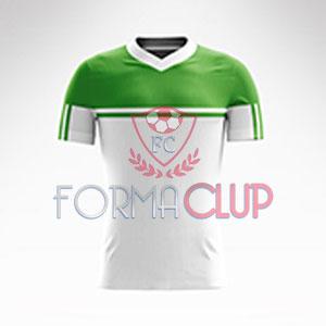 R Asist Şortlu Halı Saha Forma Takımı Beyaz/Yeşil