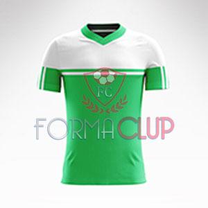 R Asist Şortlu Halı Saha Forma Takımı Yeşil/Beyaz