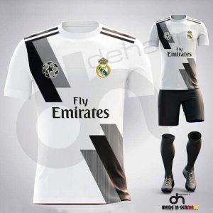 2019 City Siyah Beyaz Halı Saha Forma