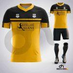 Asist Sarı-Siyah Dijital Halı Saha Forma