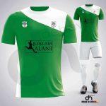 Pirate Yeşil-Beyaz Dijital Halı Saha Forma