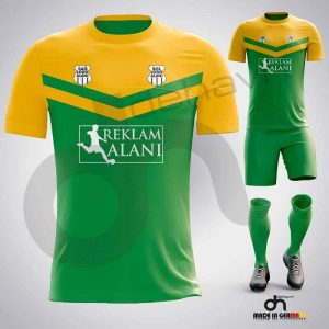Victory Yeşil-Sarı Dijital Halı Saha Forma